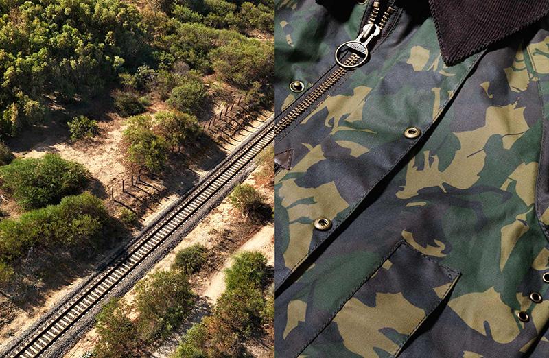 railtrack and military-denim