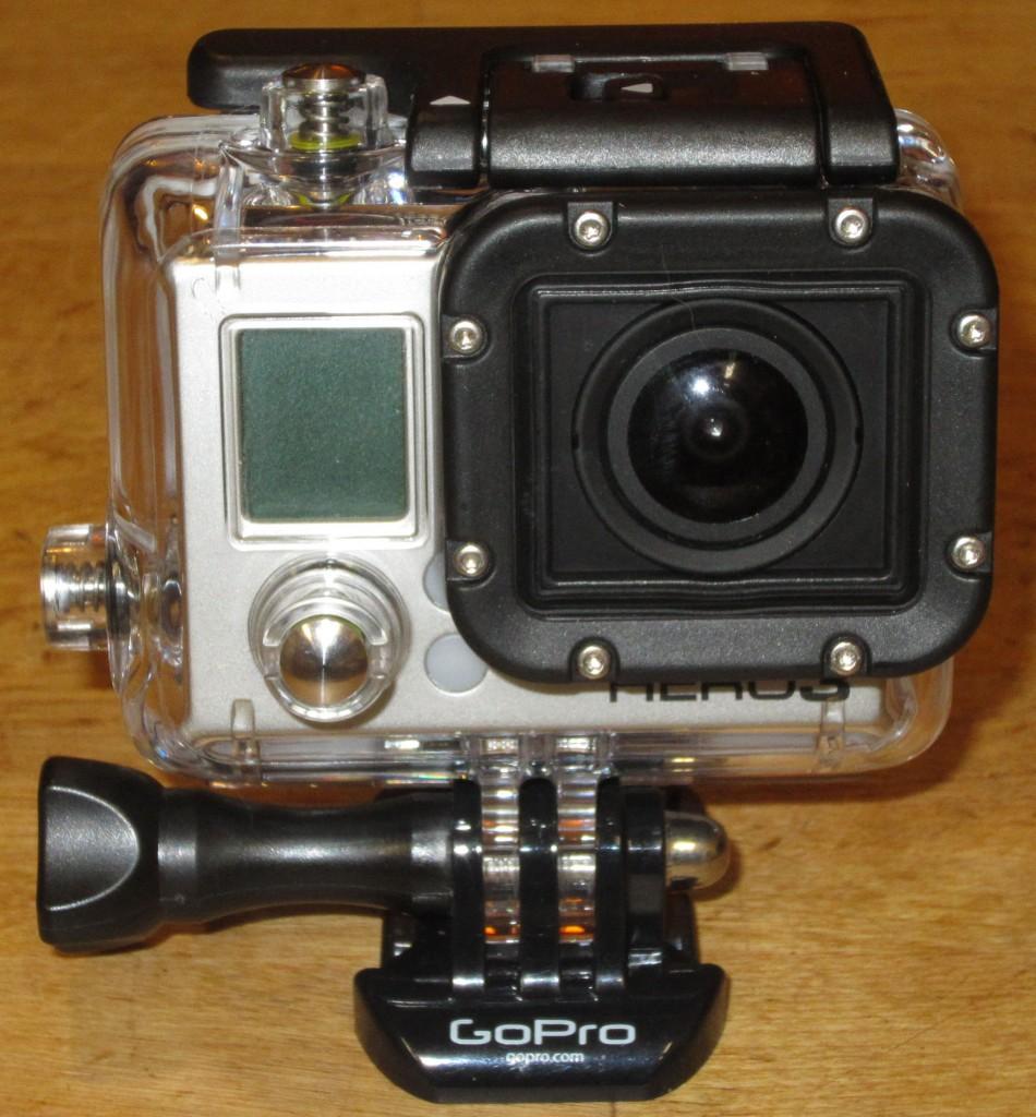 black GoPro Hero3