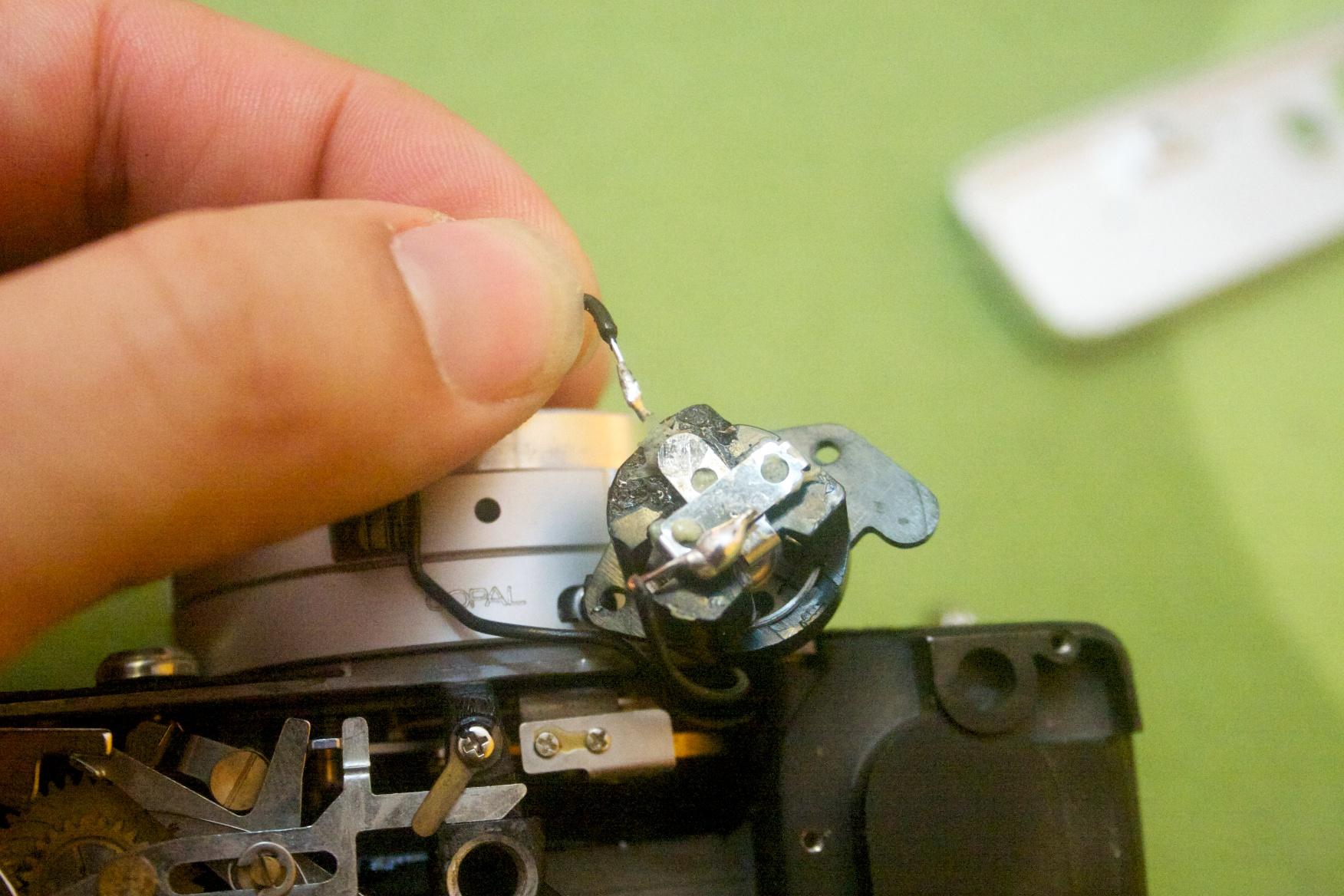 Broke model hidden camera