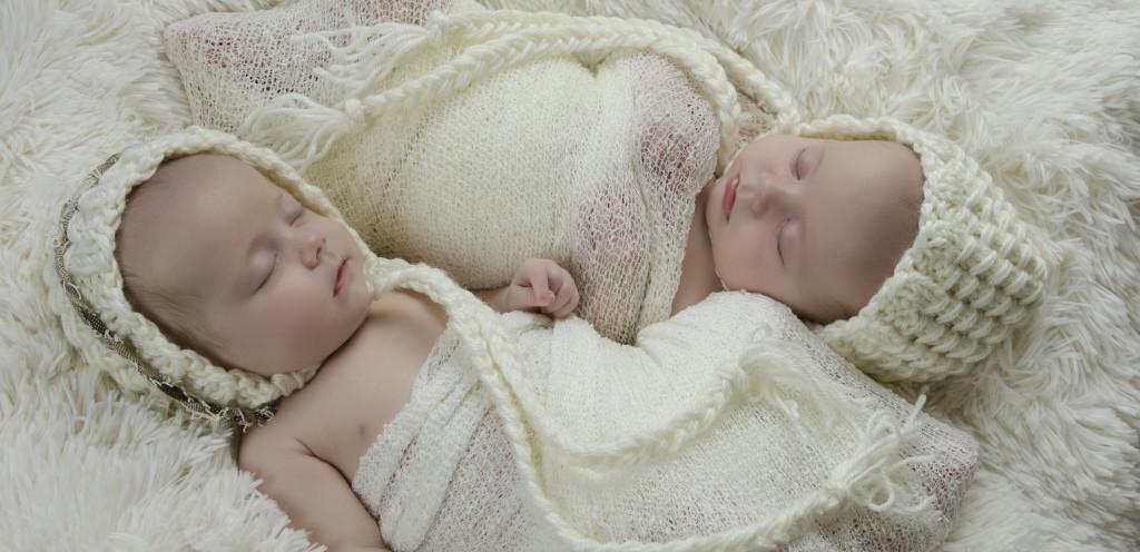 2 newborns