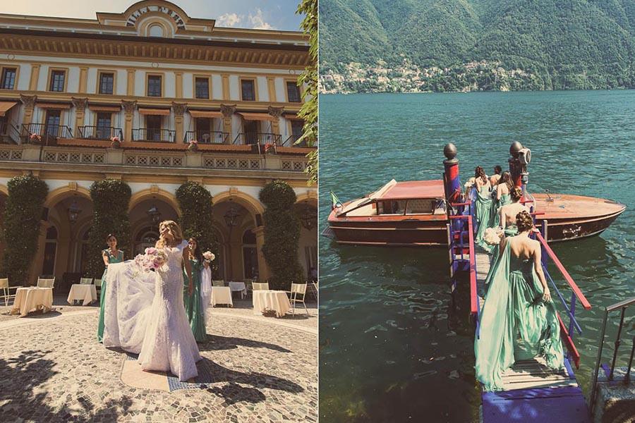 Destination wedding photographer in Italy Lake Como