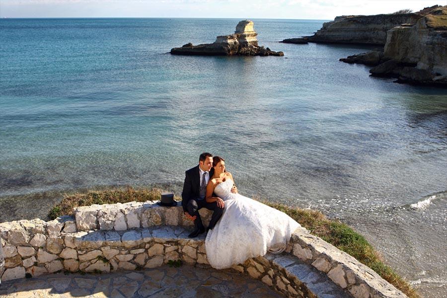 Destination wedding photographer in Italy Puglia