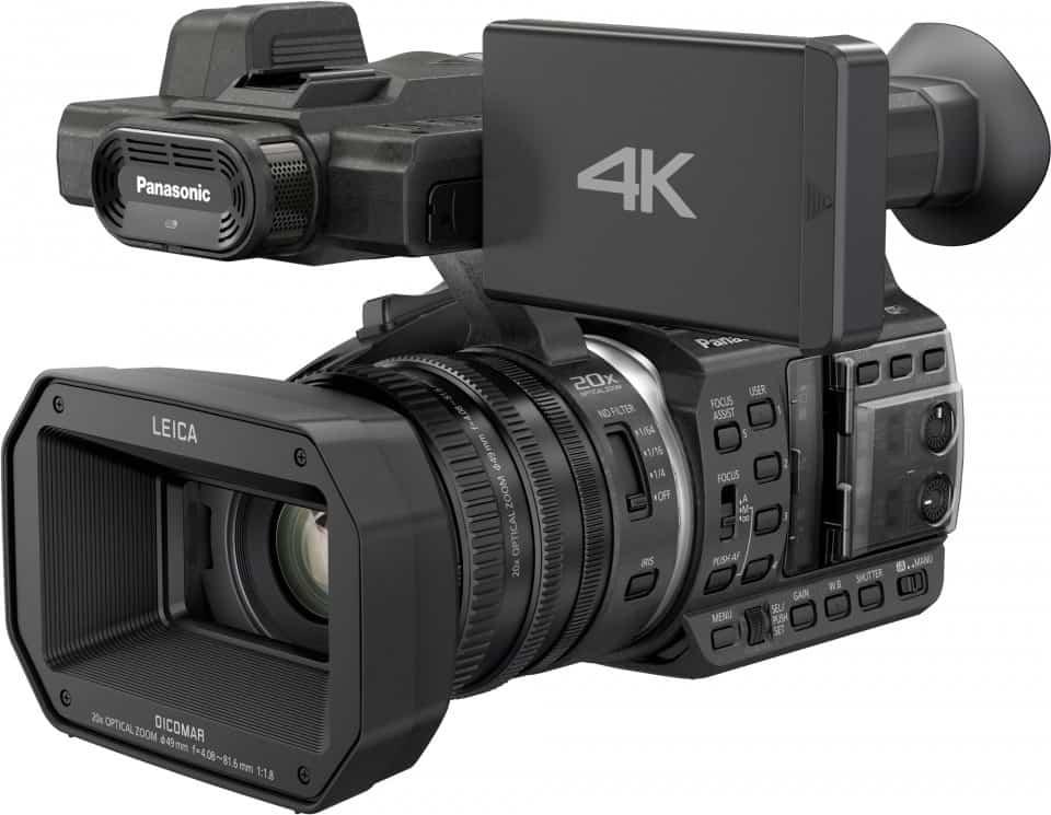HC1000 4k camcorder