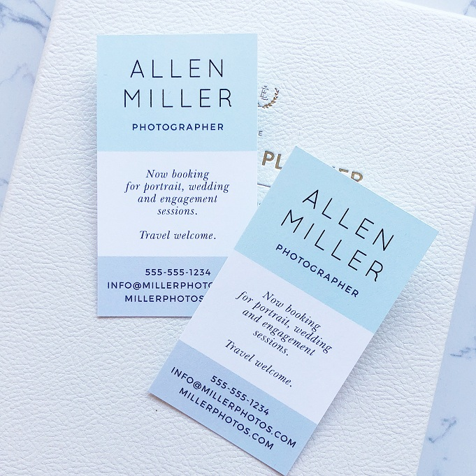 cheap cute business cards
